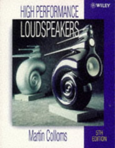 High Performance Loudspeakers  5th 1997 9780471970897 Front Cover