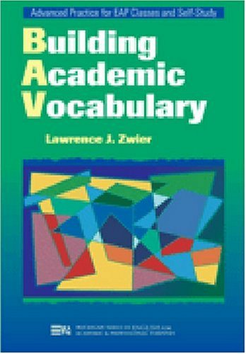 Building Academic Vocabulary   2002 edition cover