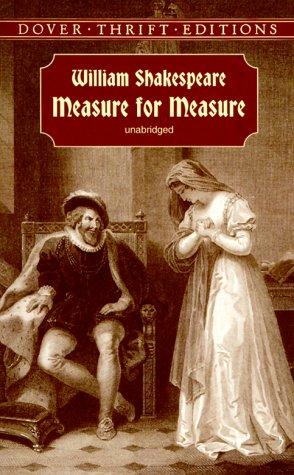 Measure for Measure  Unabridged edition cover
