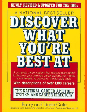 Discover What You're Best At 19th (Revised) 9780671695897 Front Cover
