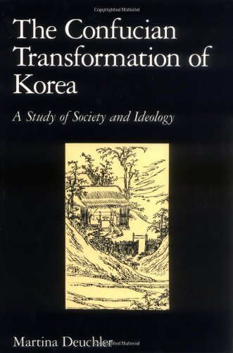 Confucian Transformation of Korea A Study of Society and Ideology  1992 edition cover