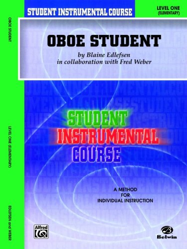 Student Instrumental Course Oboe Student Level I  2000 edition cover