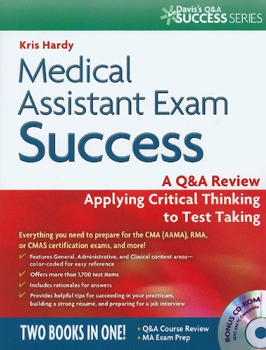 Medical Assistant Exam Success A Q and a Review Applying Critical Thinking to Test Taking  2010 edition cover