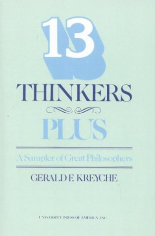 Thirteen Thinkers-Plus A Sampler of Great Philosophers  1984 (Revised) edition cover