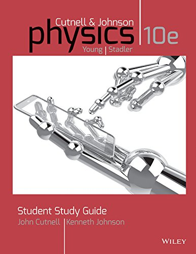 Study Guid for Physics: 10th 2014 9781118836897 Front Cover