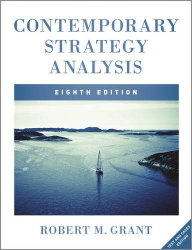 Contemporary Strategy Analysis with Access Code Text and Cases 8th 2013 9781119941897 Front Cover
