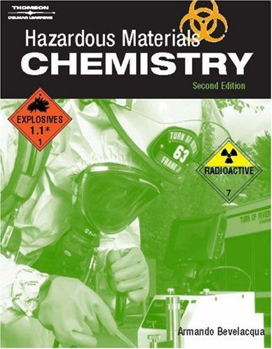 Hazardous Materials Chemistry  2nd 2006 (Revised) 9781401880897 Front Cover
