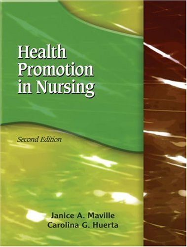 Health Promotion in Nursing  2nd 2008 (Revised) edition cover
