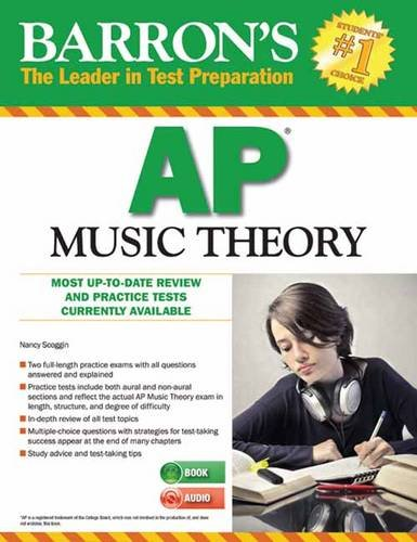 Barron's AP Music Theory with MP3 CD, 2nd Edition  2nd 2014 (Revised) edition cover