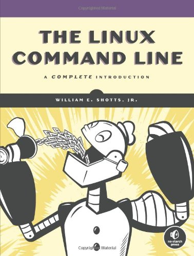 Linux Command Line A Complete Introduction  2011 edition cover