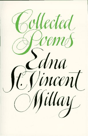 Edna St. Vincent Millay Collected Poems Reprint  edition cover