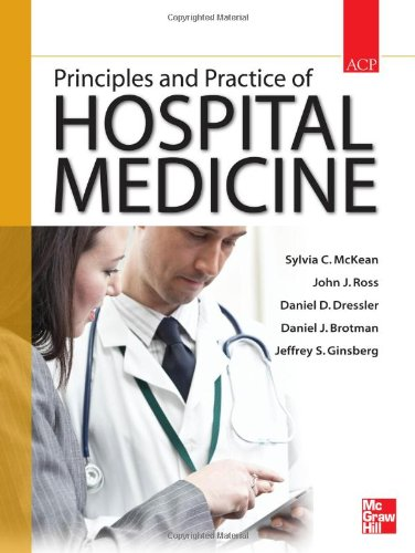 Principles and Practice of Hospital Medicine   2012 edition cover