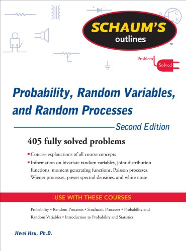 Probability, Random Variables, and Random Processes  2nd 2010 edition cover