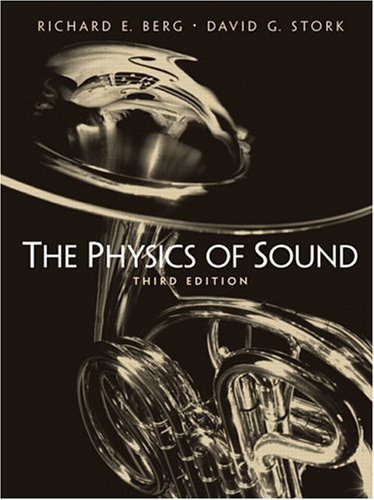 Physics of Sound  3rd 2005 edition cover