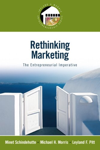 Rethinking Marketing The Entrepreneurial Imperative  2009 edition cover