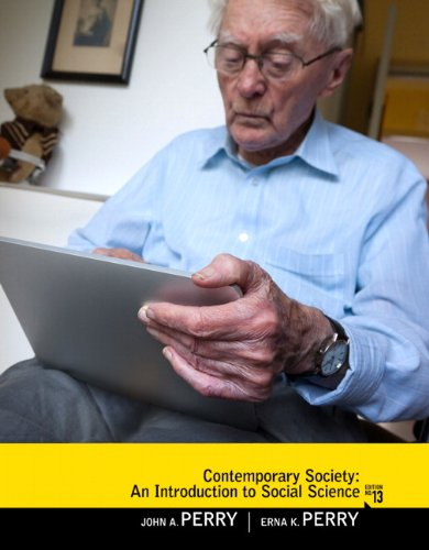 Contemporary Society An Introduction to Social Science 13th 2011 (Revised) edition cover