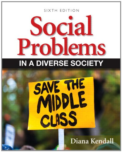 Social Problems in a Diverse Society  6th 2013 edition cover