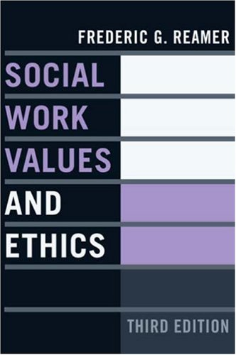 Social Work Values and Ethics  3rd 2006 edition cover
