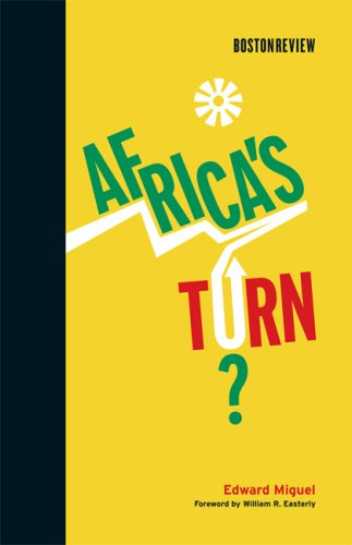 Africa's Turn?   2009 edition cover