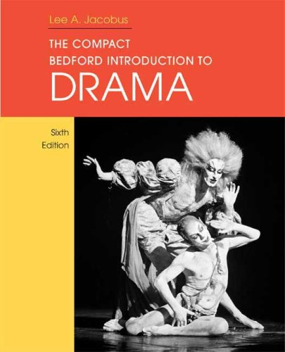 Compact Bedford Introduction to Drama  6th 2009 edition cover