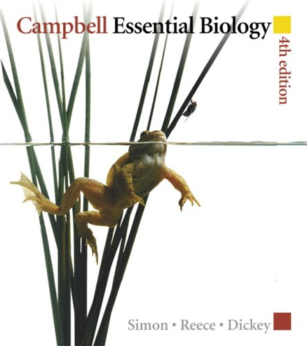 Campbell Essential Biology  4th 2010 edition cover