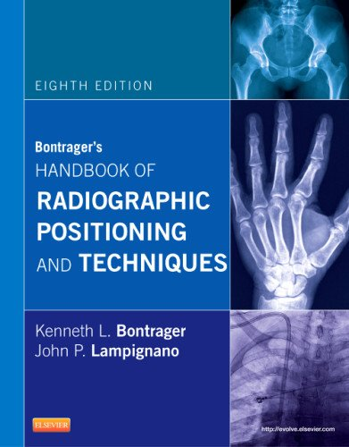 Bontrager's Handbook of Radiographic Positioning and Techniques  8th 2013 edition cover