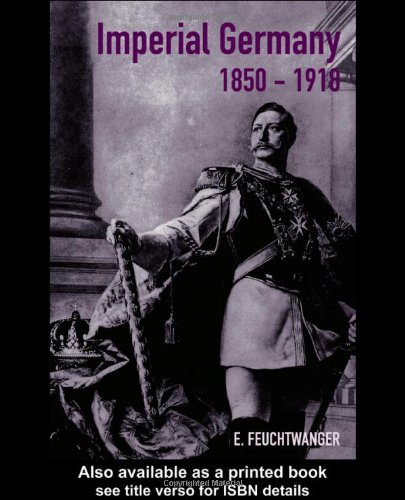 Imperial Germany, 1850-1918   2001 edition cover