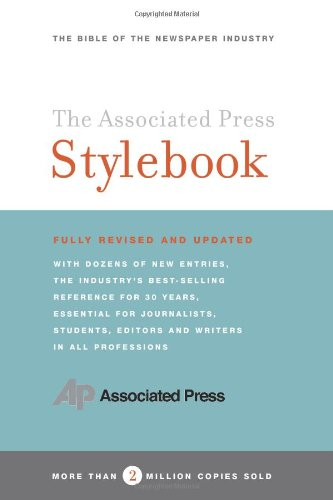 Associated Press Stylebook And Briefing on Media Law 42nd 2006 (Revised) edition cover