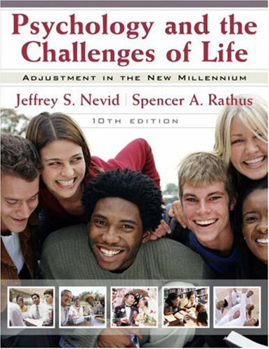 Psychology and the Challenges of Life Adjustment to the New Millennium 10th 2007 (Revised) edition cover