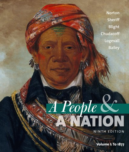 People and a Nation A History of the United States - To 1877 9th 2012 edition cover