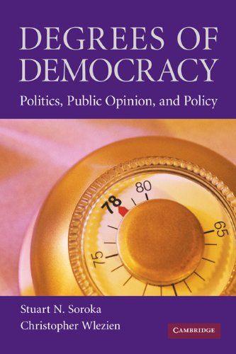 Degrees of Democracy Politics, Public Opinion, and Policy  2010 edition cover