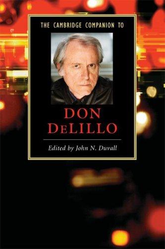 Cambridge Companion to Don Delillo   2008 edition cover