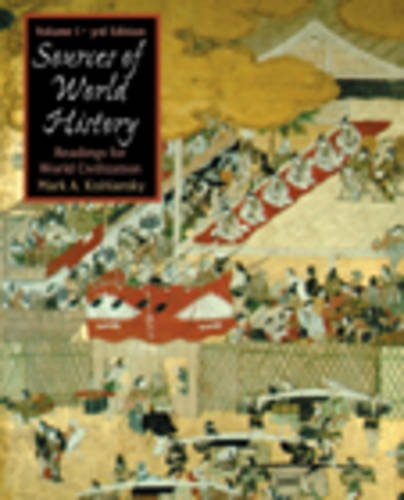 Sources in World History Readings for World Civilization 3rd 2003 (Revised) 9780534586898 Front Cover