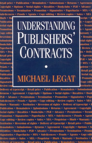Understanding Publishers' Contracts N/A edition cover