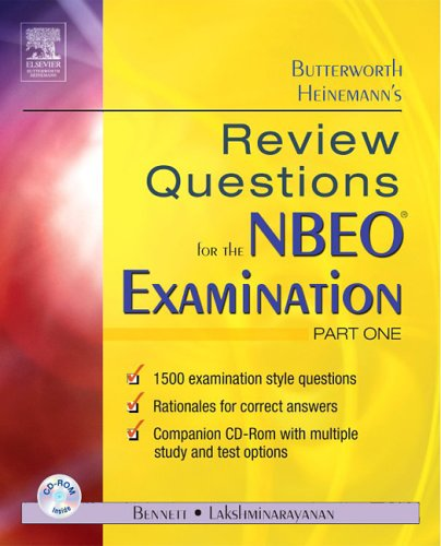Review Questions for the NBEO Examination   2006 9780750674898 Front Cover