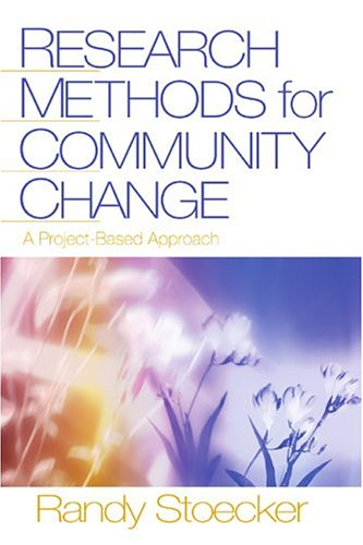 Research Methods for Community Change A Project-Based Approach  2005 edition cover