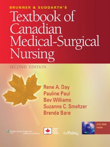 Brunner & Suddarth's Textbook of Canadian Medical-Surgical Nursing 2nd 2009 (Revised) edition cover