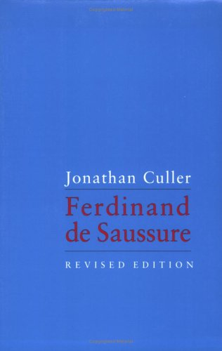 Ferdinand de Saussure  Revised  edition cover