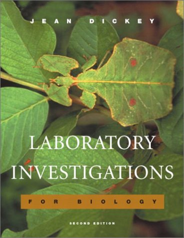 Laboratory Investigations for Biology  2nd 2003 (Revised) edition cover