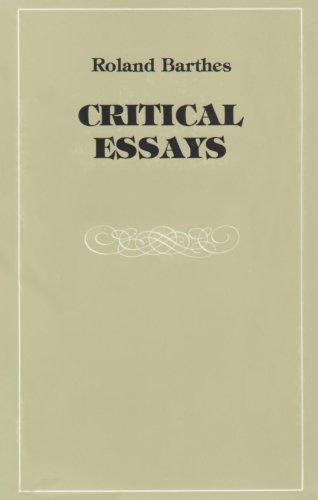 Critical Essays  N/A edition cover