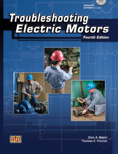 Troubleshooting Electric Motors  4th 2010 edition cover