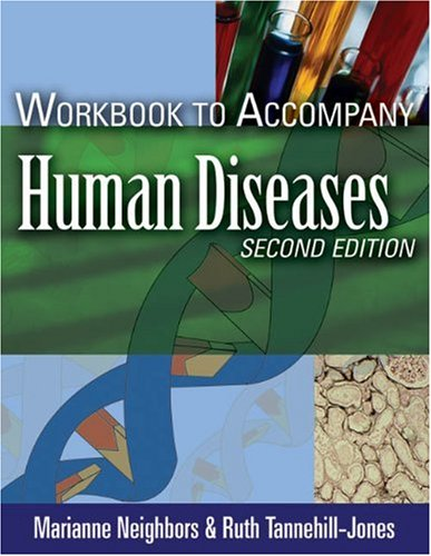 Human Diseases  2nd 2006 (Workbook) 9781401870898 Front Cover