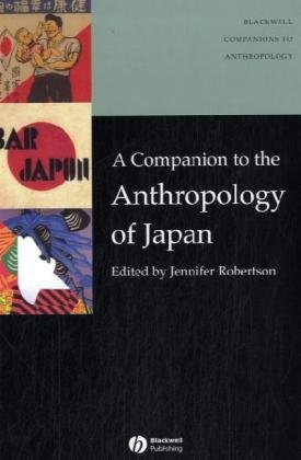 Companion to the Anthropology of Japan   2005 edition cover