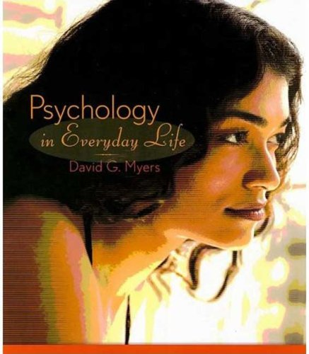Psychology in Everyday Life   2009 edition cover