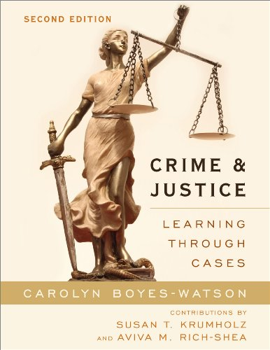 Crime and Justice Learning through Cases 2nd 2014 edition cover