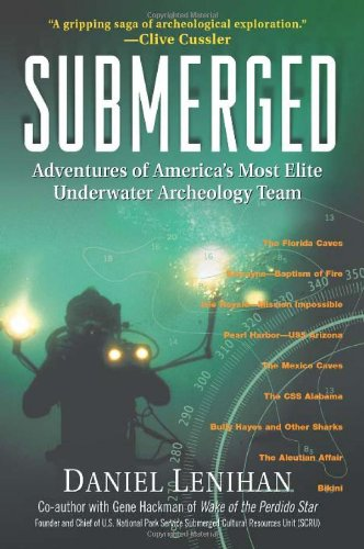 Submerged Adventures of America's Most Elite Underwater Archeology Team  2003 edition cover