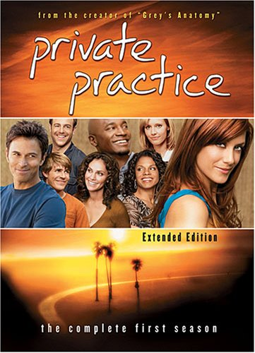 Private Practice: Season 1 System.Collections.Generic.List`1[System.String] artwork
