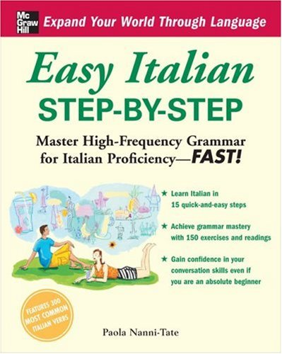 Easy Italian Step-by-Step   2009 9780071453899 Front Cover