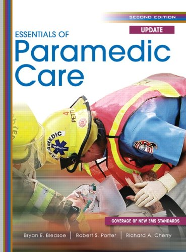 Essentials of Paramedic Care Update  2nd 2011 edition cover
