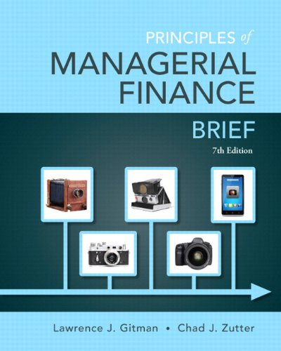 Principles of Managerial Finance + New Myfinancelab With Pearson Etext Access Card Package:   2014 edition cover